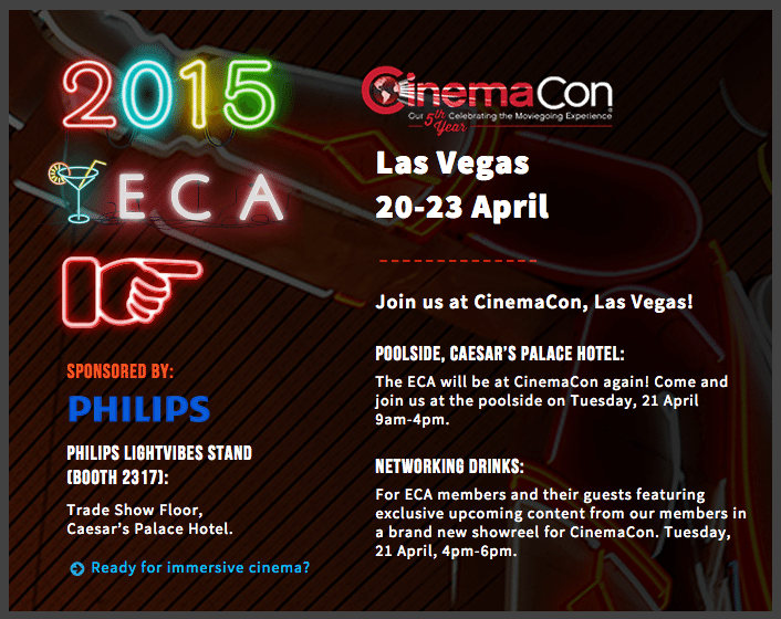 ECA Cinemacon 2015
