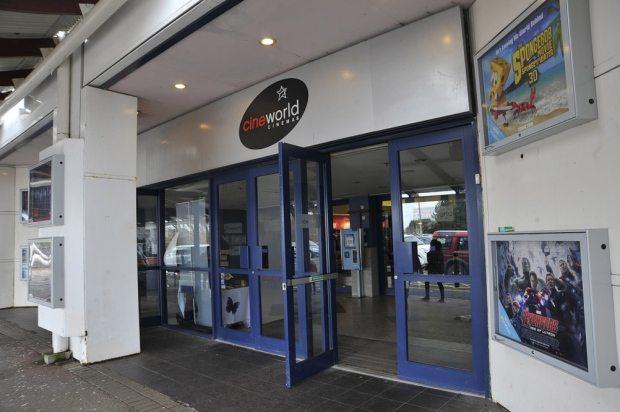 Cineworld Eastbourne Flooding