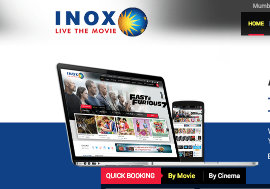 Inox website