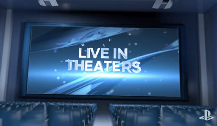 Sony E3 keynote cinemas