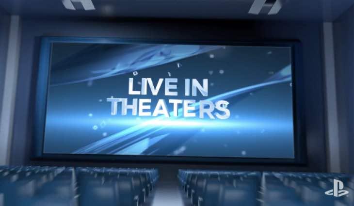 Sony E3 keynote cinemas