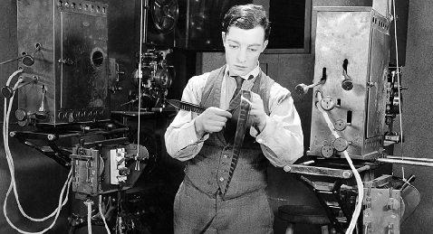 Buster Keaton cinema