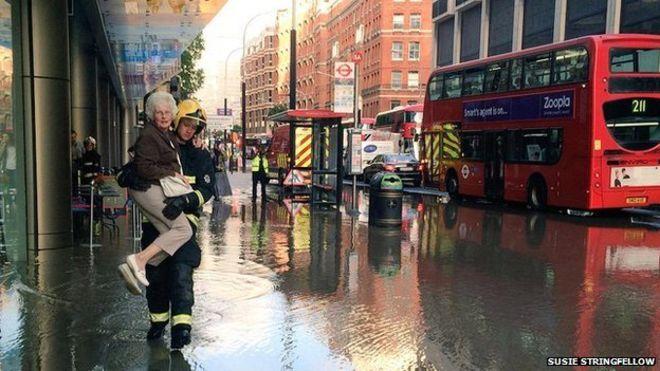Curzon Victoria flooding