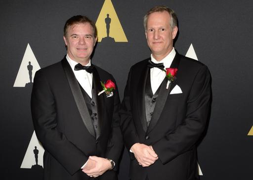 Reiner Doetzkies (L) and Steven Krycho (R)