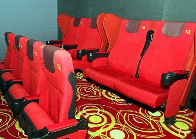 Lotus Five Star Malaysia Cinema Couple seats