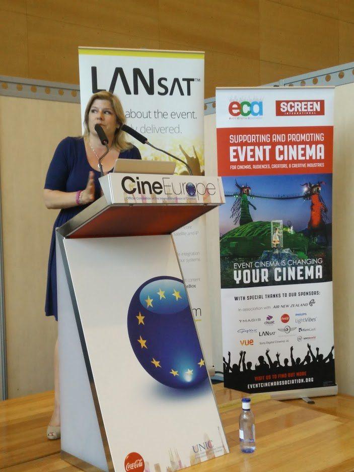 Melissa Cogavin Event Cinema Association CineEurope 2015