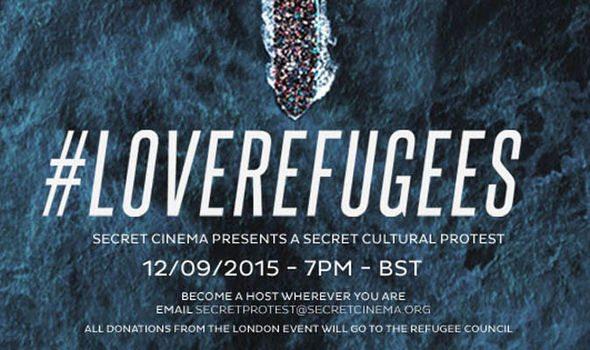 Secret Cinema love refugees