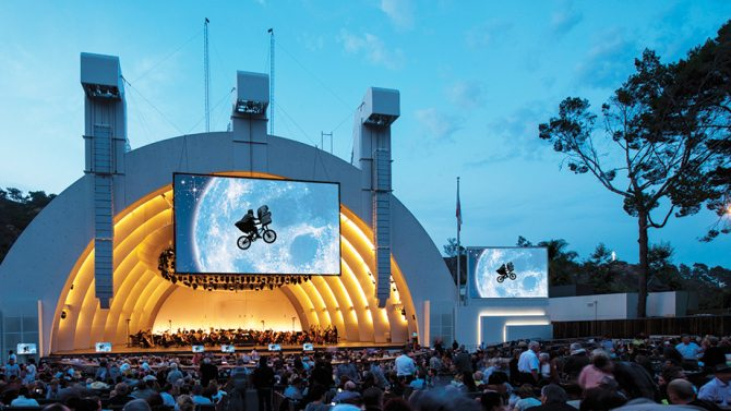 Hollywood Bowl E.T.