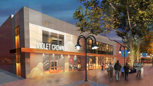 Violet Crown cinema Charlottesville