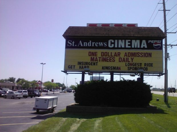 St Andrews dollar cinema