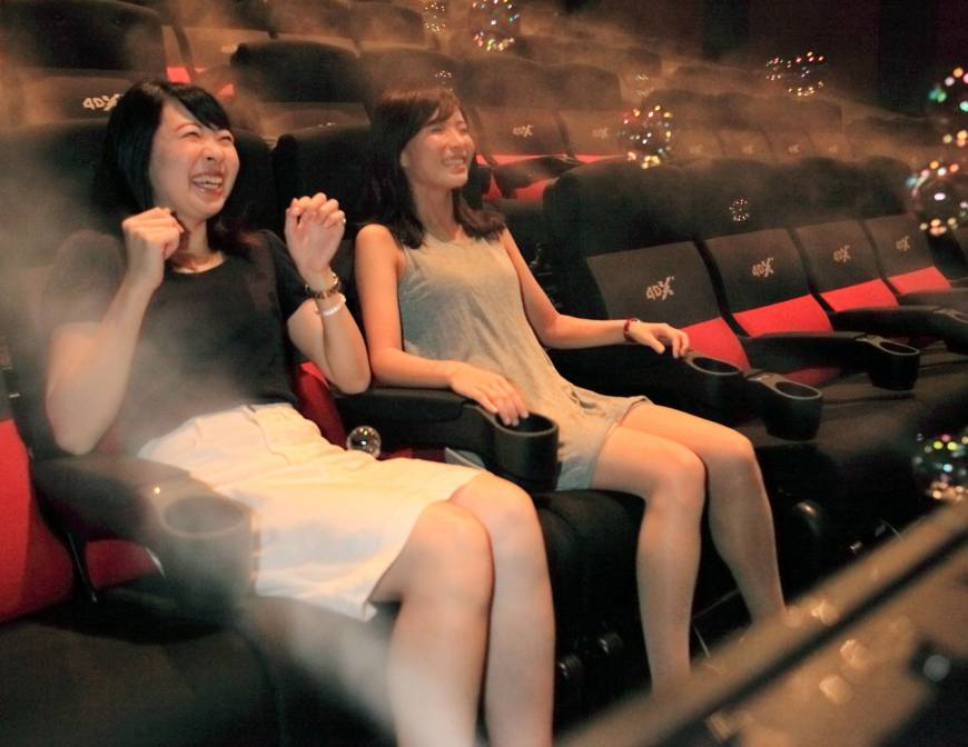 4DX cinema Toho Japan