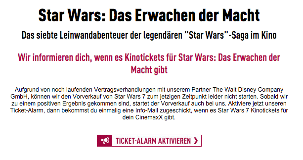 Star Wars Cinemaxx