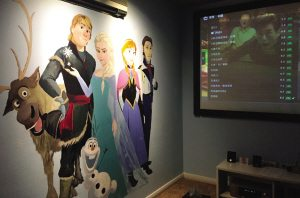 Frozen Private cinema in China