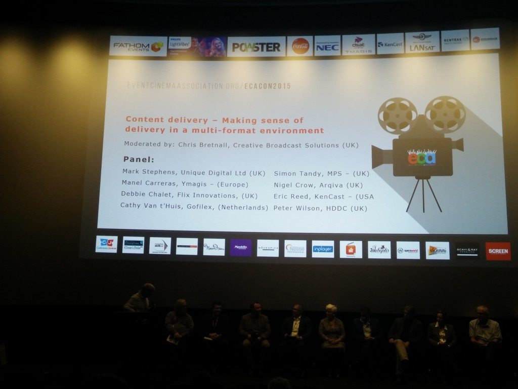 Event Cinema Association 2015 conference
