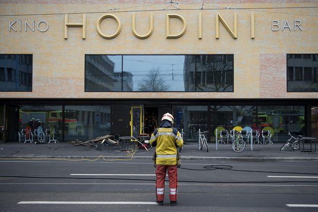 Kino Cinema and Bar Fire in Zurich Switzerland
