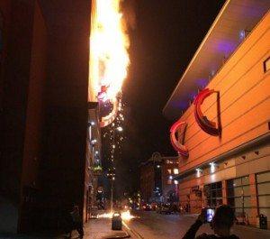 Cineworld Birmingham fire