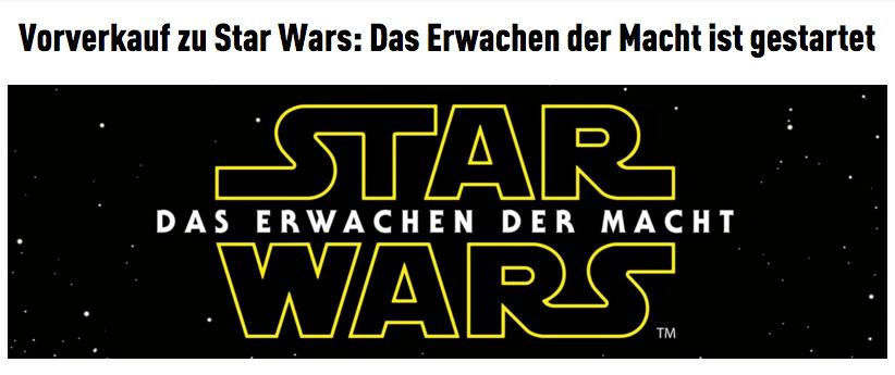 Star Wars Cineplexx