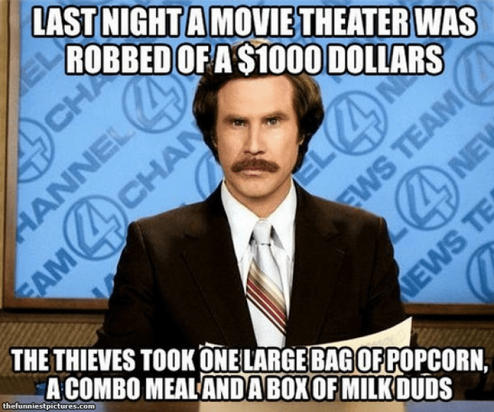 Theatre robbed