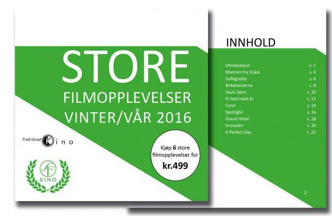 SF Norge Store Filmopplevelser