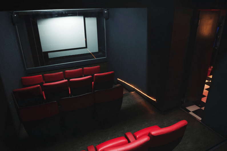 New red leather seats for the balcony at Splendid (photo: Pierre Abensur / Tamed)
