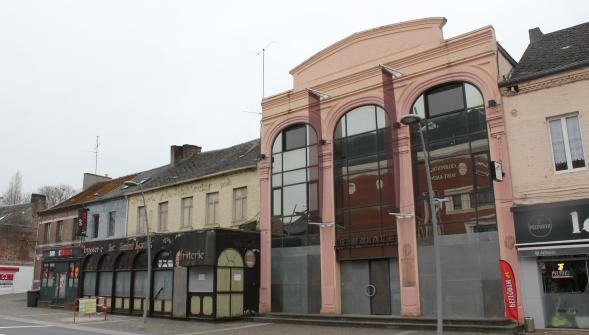 Soon to be demolished to make way for cinema (photo: La Voix du Nord)