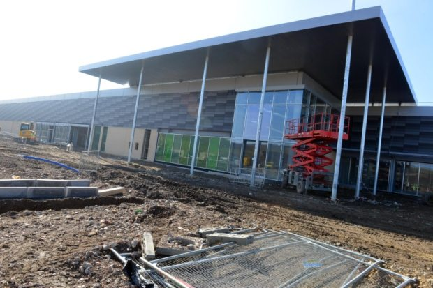 Cineworld opening here - soon. (photo: Sunderland Echo)