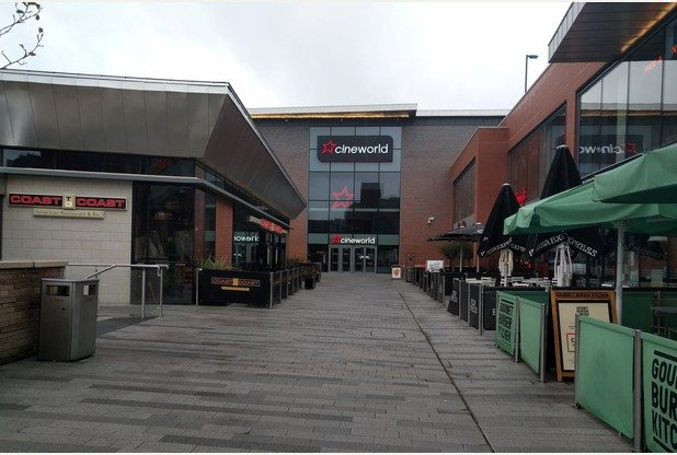Cineworld at The Hive in Hanley.
