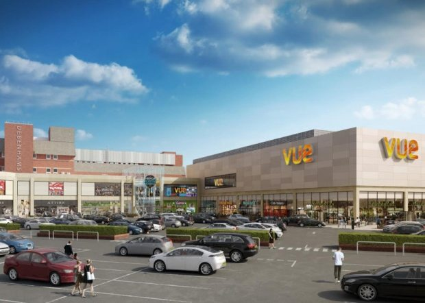 How the Fishergate Shopping Centre could look Vue