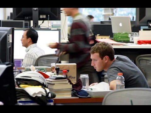 Mark Zuckerberg Facebook office