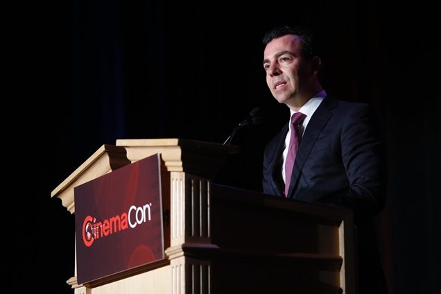 Alejandro Ramírez Magaña of Cinépolis at CinemaCon 2016