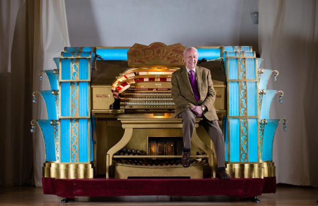 Saturday's 16th April Herald Mag WIFL - Jack Walker chairman of the Scottish Cinema Organ Trust which has a rebuilt Wurlitzer organ at the Pollokshaws Burgh Hall. There are regular concerts played on it,