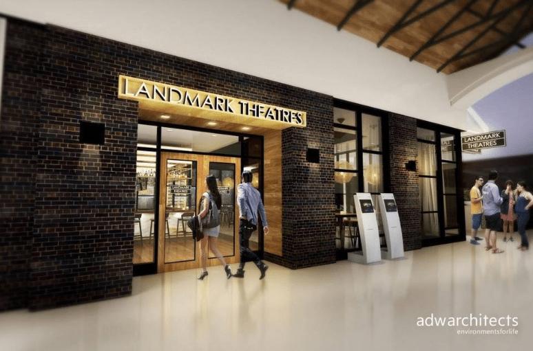 Proposed seven-screen Landmark multiplex at The Shops of Merrick Park
