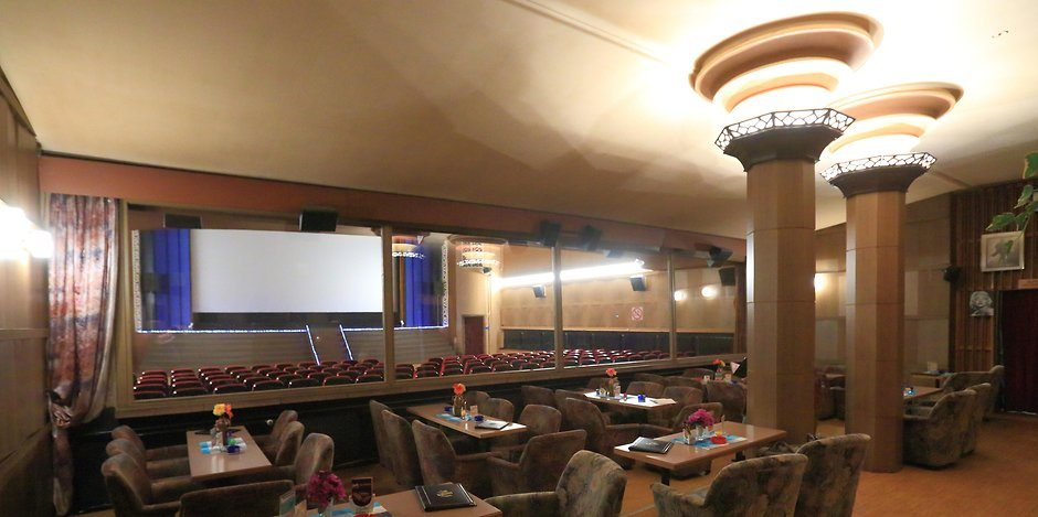 Capitol in Bernburg - Germany's last art deco cinema.