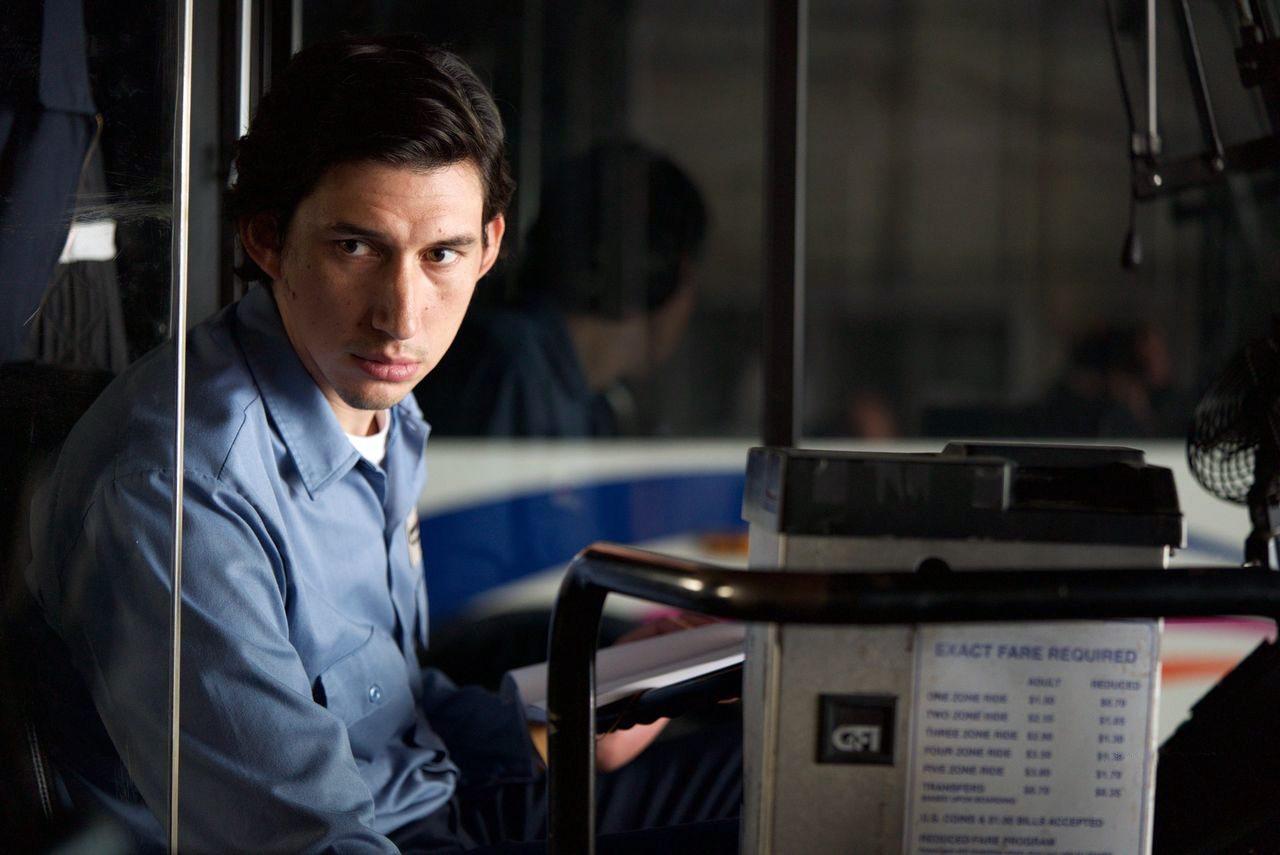 Adam Driver as Paterson in Paterson