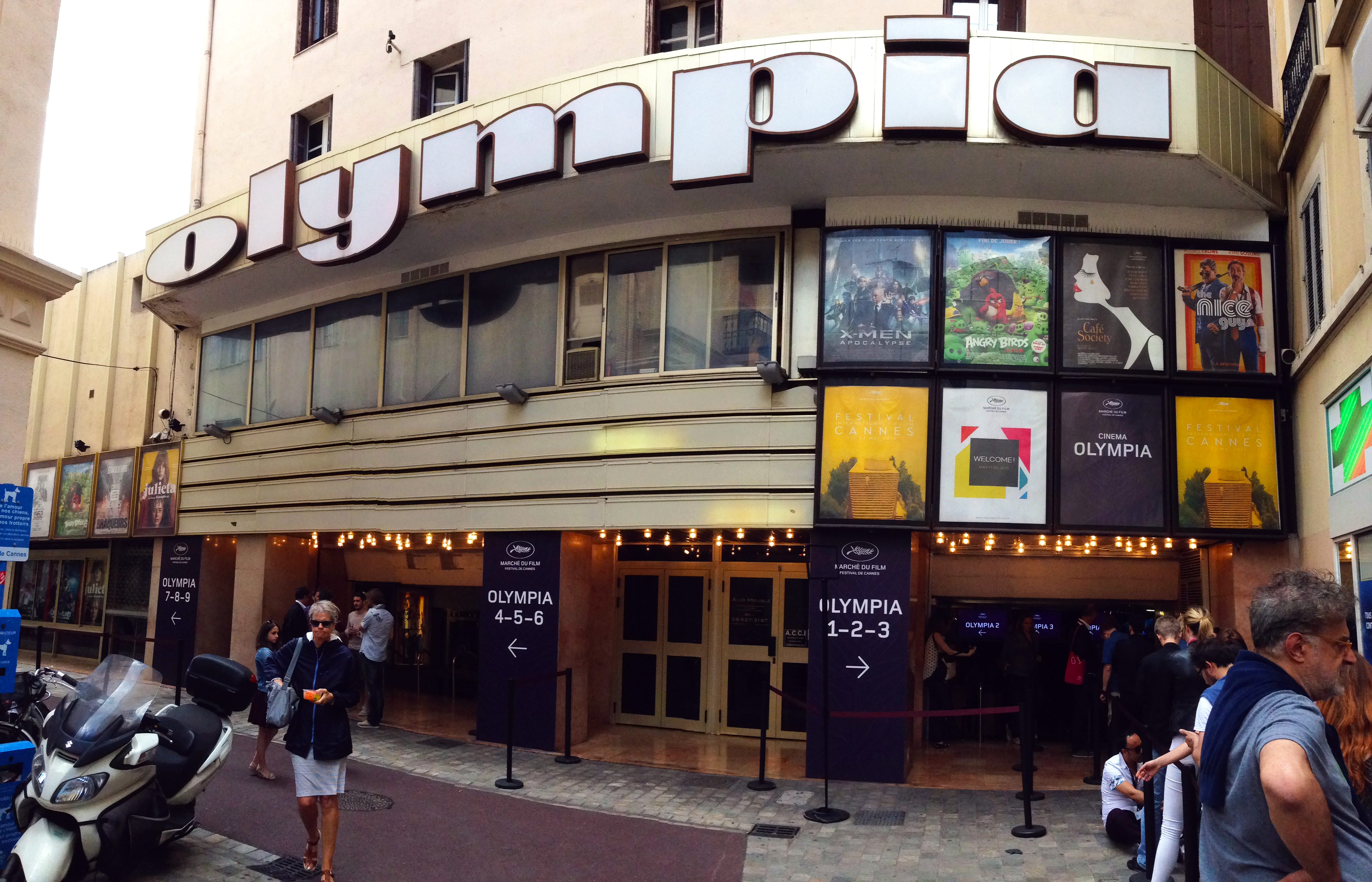 Cinéma Olympia in Cannes, France during the Marche du Film