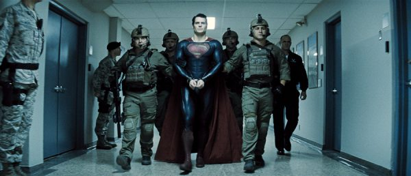 Man of steel arrested