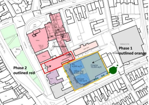Grantham cinema plan