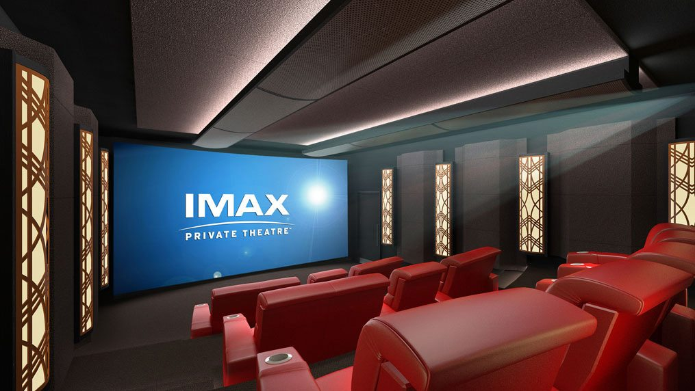 Private Imax screen