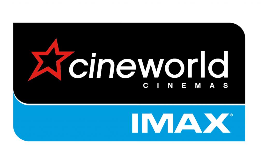 Cineworld Imax logos