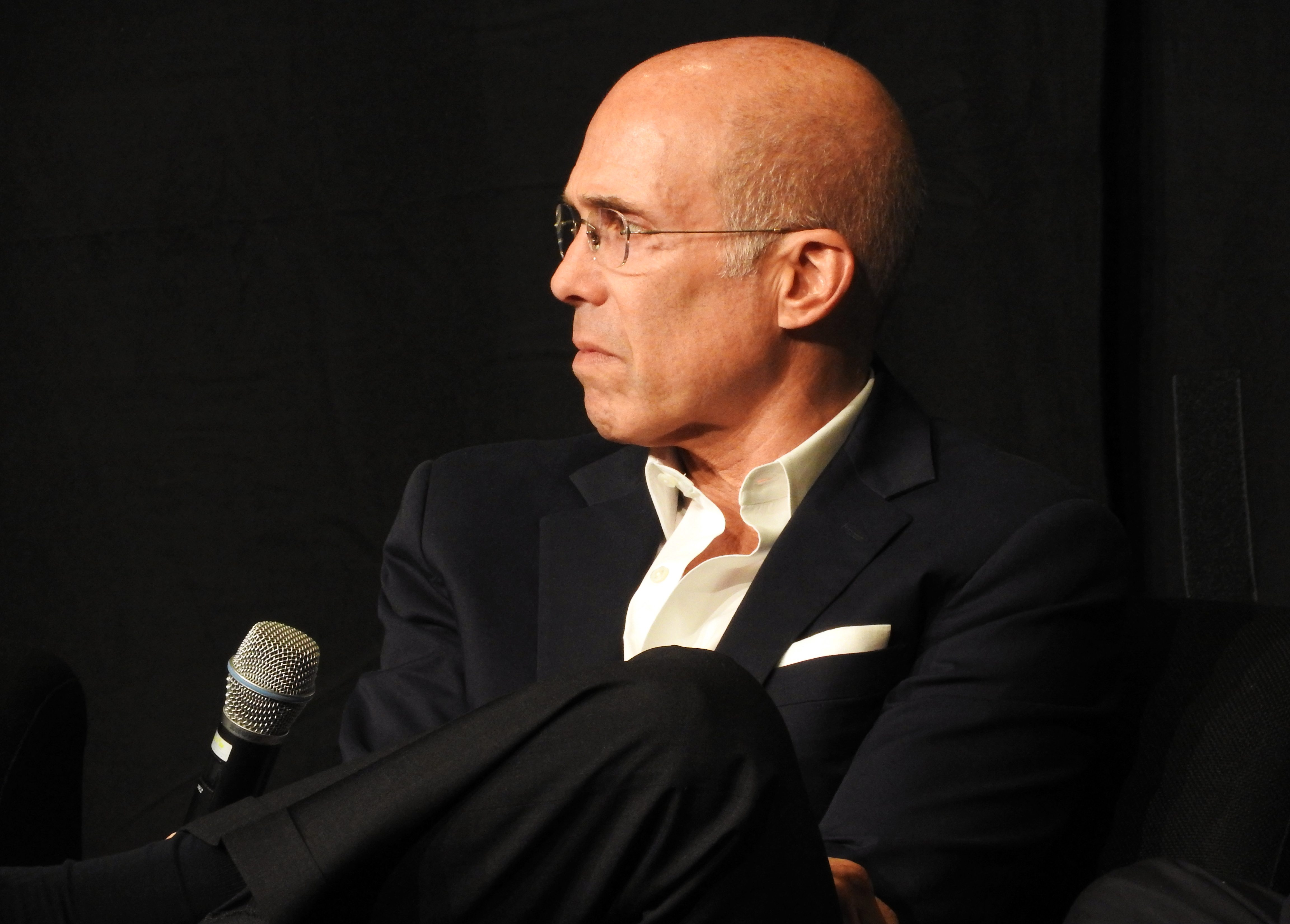 Jeffrey Katzenberg, outgoing head of DreamWorks Animation, at CineEurope 2016