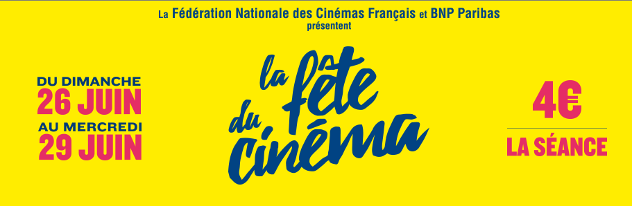 La Fete du Cinema 2016