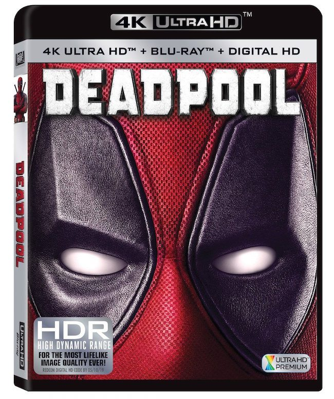 "Fox's ""Deadpool"" UHD BD."