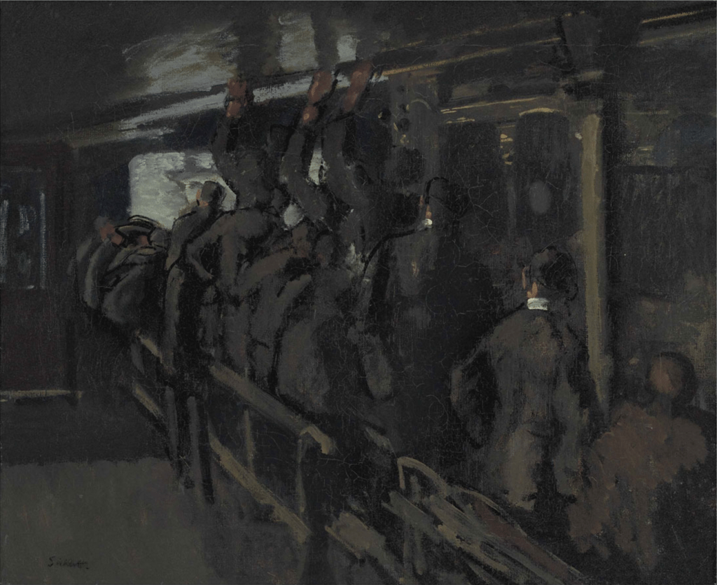 Walter Richard Sickert, A.R.A. (1860-1942), The Gallery At The Old Mogul, 1906.