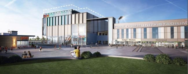 York Cinema community stadium