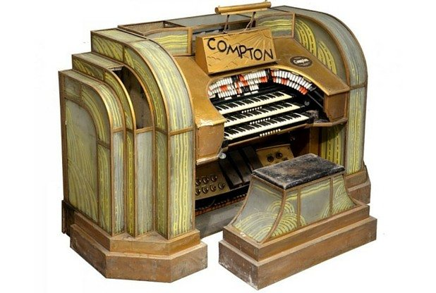 art-deco Compton cinema organ