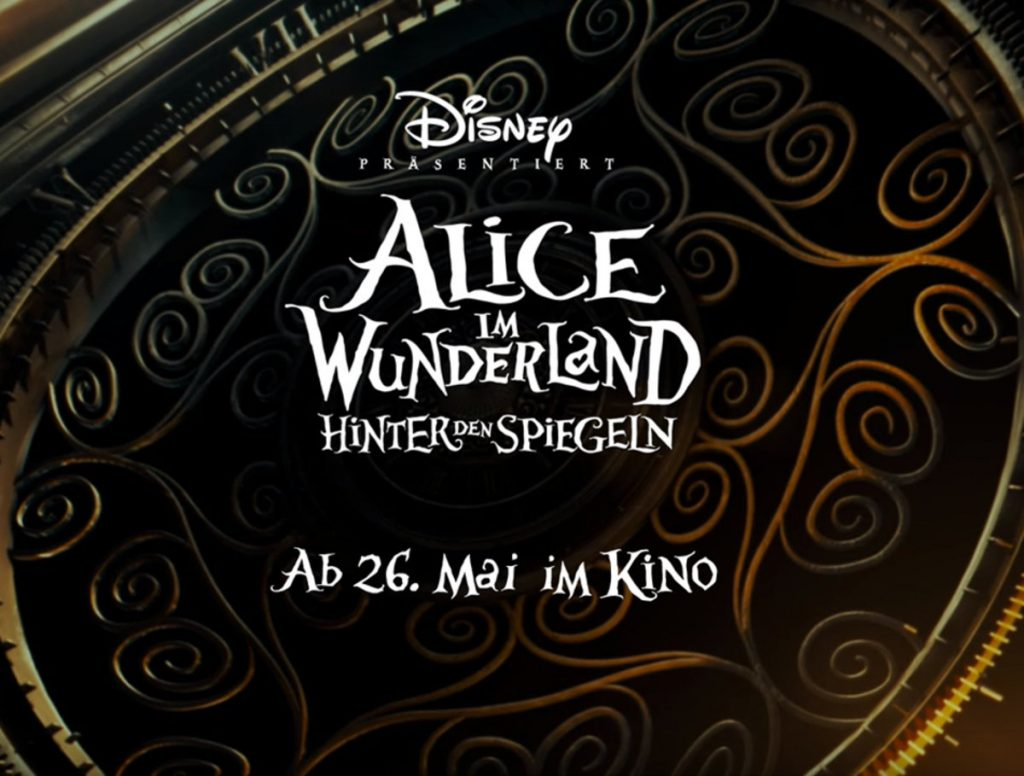 Alice Through Looking Glass Germany