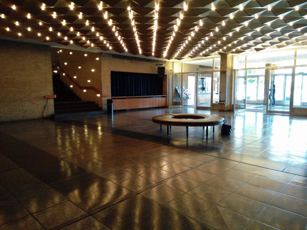 Kino International, ground floor lobby area.