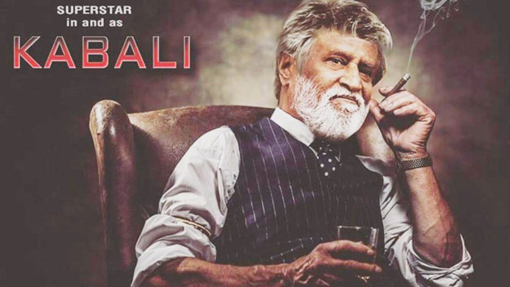 "Encouraging smoking, drinking and possible stalking - ""Kabali""."