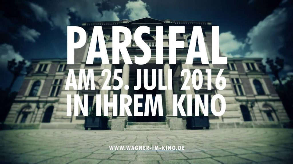 Parsifal live in Kino