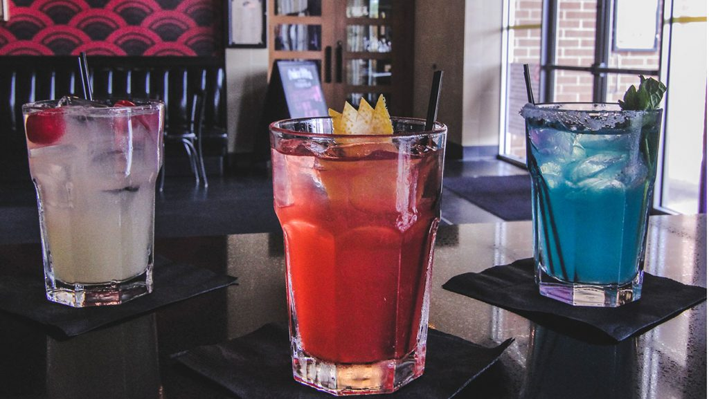Pokemon Go cocktails at Alamo Drafthouse: The Fiery Passion, the Mystic Wisdom and Trust Your Instincts.